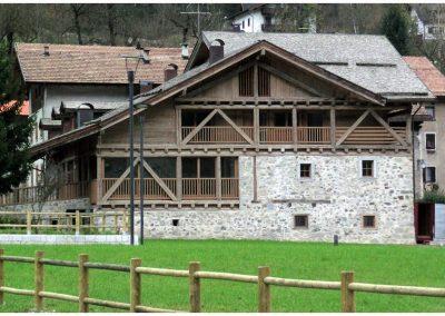 Restauro di una casa rustica