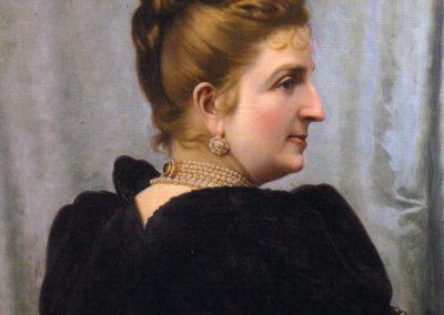 Glisenti Achille Ritratto Margherita 1892