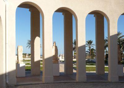 Restauro del Museo di Sabratha, Libia