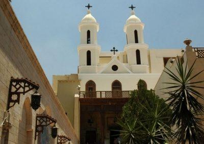 La Chiesa Sospesa, Il Cairo